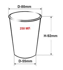 Бумажные контейнеры для супа с пластиковыми крышками