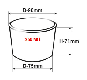 Набор одноразовых стаканов Huhtamaki , бумажные